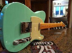 2011 Fender Custom Deluxe Surf Pearl Custom Shop Fender Telecaster