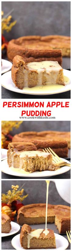 Thanksgiving Food Crafts, Traditional Thanksgiving Recipes, Thanksgiving Dinner Recipes, Holiday Recipes, Persimmon Recipes, Apple Recipes, Baking Recipes, Best Dessert Recipes, Delicious Recipes