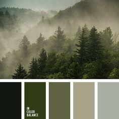color verde, color verde abeto, elección de colores para un vestuario, elección del color para el interior, marrón verdoso, matices del verde oscuro, tonos de color marrón verdoso, tonos verdes, verde grisáceo, verde oscuro, verde polvoriento.  FacebookTwitter