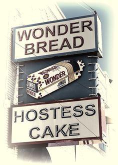 Wonder Memories - #5 - photograph by Stephen Stookey fineartamerica.com #wonderbread #hostesscakes #vintagestyle