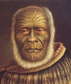 Ihaka Whaanga #maoritattoosface
