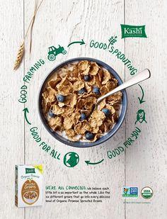 Kashi Organic Promise Cereal  Advertising