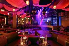 Marquee Nightclub Las Vegas at the Cosmopolitan Hotel - it may be 60,000 sq. feet, but the dance floor is still pretty small haha still we always have a blast here! -Es