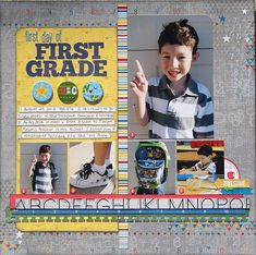 Layout: First Day of First Grade