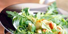Salade de Saint-Jacques au mesclun