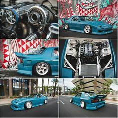 #throwback @thecanadiantuxedo's 1.6L B6ZE Miata-Powered RX-7 FC3S / Photo by @dxrd for @superstreet   #TopMiata #mazda #miata #mx5 #eunos #roadster #rx7 #fcrx7 #b6ze #drift