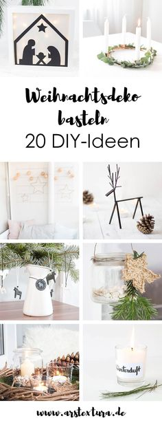 Weihnachten Making Christmas: Making Christmas Decorations – 20 DIY Ideas for the Home: Advent Calendar, Advent Wreath, Christmas Tree Decor … Christmas Makes, All Things Christmas, Vintage Christmas, Christmas Diy, Christmas Wreaths, Holiday, Scandinavian Christmas, Christmas Ornaments, Christmas Articles