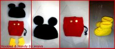 SSO25 Mickey mouse prop set