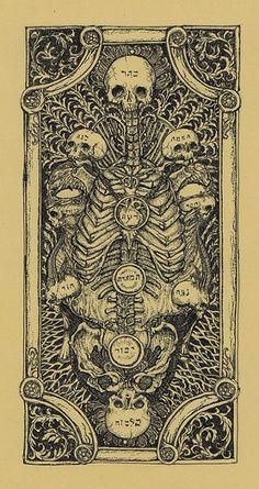 Death card Tarot illustration by R. Memento Mori, La Danse Macabre, Arte Obscura, Occult Art, Mystique, Art Graphique, Tarot Decks, Skull Art, Dark Art