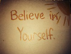 Believe in Yourself Kindness Card (June 2015)