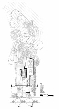 Image 24 of 28 from gallery of Redwood House / Jeff Svitak. First floor plan Cantilever Architecture, Detail Architecture, Architecture Drawing Plan, Architecture Board, Architecture Graphics, Architecture Visualization, Landscape Architecture, Architecture Diagrams, Architecture Presentation Board