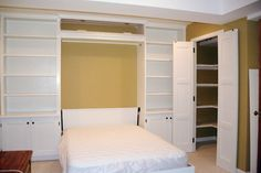 murphy bed  | MURPHY BED WITH CABINETS... - MURPHY BEDS