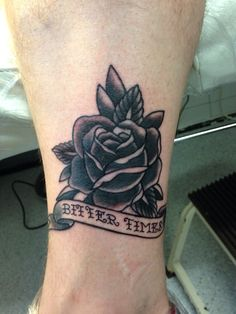 #oldschool #rose #tattoo done by Susy