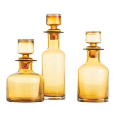O'Connor Decanters, Set of 3