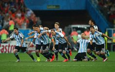Netherlands vs Argentina: Penalty heartbreak for Holland as Lionel Messi leads his men into World Cup final - Telegraph Hope Solo, Gareth Bale, World Cup 2014, Fifa World Cup, Lionel Messi, Fc Barcelona, Barcelona Soccer, Cristiano Ronaldo, Neymar