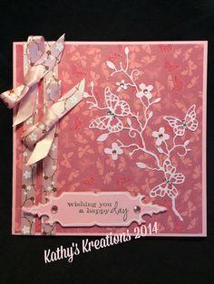 Memory Box dies and S.E.I. Decorative paper. kensington branch