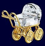 Swarovski Crystal Pram.