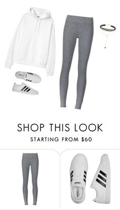 """""""Comfortable"""" by liveloveshopfashion ❤ liked on Polyvore featuring ATM by Anthony Thomas Melillo and adidas"""