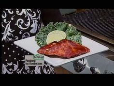 Amy's BBQ Salmon recipe from Good Day Wisconsin's Cooking with Amy. Click the pin for the full recipe.