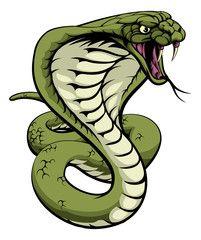 Vettoriale: King Cobra Snake