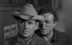Glenn Ford and Van Heflin in 3:10 to Yuma