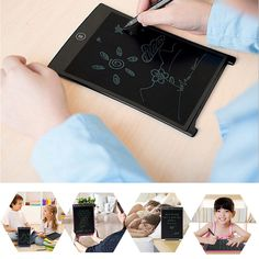 Cheap lcd tablet, Buy Quality tablet lcd directly from China lcd writing tablet Suppliers: Inch Portable LCD Handwriting Board With Pen Electronic Writing Pad Drawing Tablet Notepad For Home Office Writing Boards, Drawing Tablet, Mens Gear, Cool Gear, Drawing Board, Working Area, Portable, Handwriting, Fun Activities
