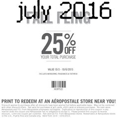 Aeropostale coupons & Aeropostale promo code inside The Coupons App. off at Aeropostale & P., or online via promo code April Free Printable Coupons, Free Printables, How To Apply, How To Get, How To Plan, Dollar General Couponing, Coupons For Boyfriend, Coupon Stockpile, Love Coupons