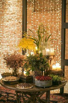 Inspirações de luzinhas no casamento! 15