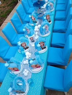Disney Frozen Birthday Party Ideas | Photo 7 of 27 | Catch My Party