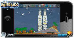 Twin Towers  #pixelart #sandbox #pixel #art #ios #iphone
