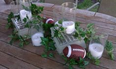 Are you ready for some football? Centerpiece by Details.