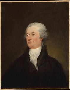 Alexander Hamilton John Trumbull  Date: 1804–6