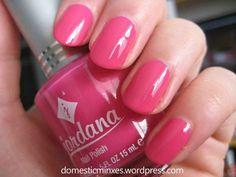 jordana pink lemonade Jordana Lipstick, Tonne, Pink Lemonade, Nail Polish Colors, Swatch, Manicure Ideas, Nails, Beauty, Enamels