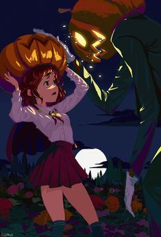 Anime Halloween, Halloween Icons, Halloween Goodies, Illustration Tumblr, Character Illustration, Fall Drawings, Cute Drawings, Manga Art, Anime Art