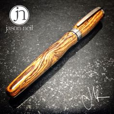Images of The Valedictorian from its recent photo shoot. Intricate Bocote wood, with  fountain pen and rollerball hardware included. Available now on our site. . To purchase, visit www.jn-woodworks.com, or email me at jason@jn-woodworks.com