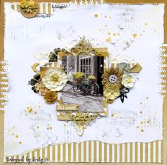 This month my kit for TSS is the new MME how yummy the range is 'This Week' . Vintage Scrapbook, Wedding Scrapbook, Scrapbook Paper, Smash Book Pages, Something To Remember, Steampunk Wedding, Specialty Paper, Scrapbook Journal, Cut And Paste