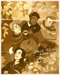 """The Marauders - Sirius: """"p.s. yes I am embarassed to be found sleeping."""" gif"""
