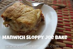 Manwich Sloppy Joe Bake #easyrecipe
