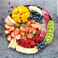"photo by @breakfastnbowls on Instagram #yummy#plater#veg#fruits#rainbow#vitamins #fiber#tray#hydration #gy…"""