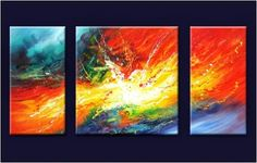 pintura abstracta moderna paso a paso