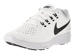 cheap for discount 8e33f eb61c Nike Women s Lunartempo 2 White Black Pure Platinum Running Shoe 7 Women  US. Breathable and light. Low-to-the-ground design offers an impressive  performance ...