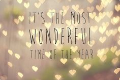 The most wonderful time of the year | We Heart It