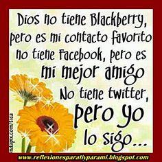 Siempre lo Segire!!!!!!!!!!! Te Amo Dios!