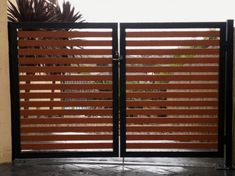 If you were looking for (metal garden art), take a look below House Main Gates Design, Fence Gate Design, Front Gate Design, Front Gates, Entrance Gates, Carport Sheds, Small Balcony Design, Metal Gates, Driveway Gate
