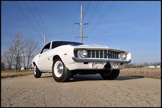 1969 Chevrolet COPO Camaro  427/425 HP, 4-Speed, Hoosier Hell Drag Car