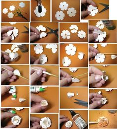 Make these sweet paper flowers!