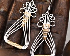 Bracelet TUTORIAL Wire wrapped Cuff pdf di Untwistedsister