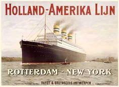 Vintage labels - Holland-Amerika Lijn