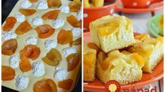 Tvarohová bublanina ľahká ako pierko: Cesto len vylejte na plech a pridajte ovocie – je to najlepší koláčik pod slnkom! Sweet Cakes, Pound Cake, Kitchen Hacks, Sweet Recipes, Waffles, Sweet Tooth, French Toast, Cheesecake, Muffin