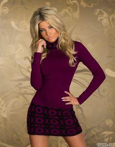 Rochie tricotata de dama